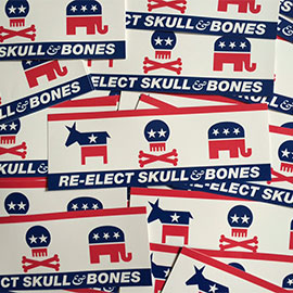 Skull and Bones stickers